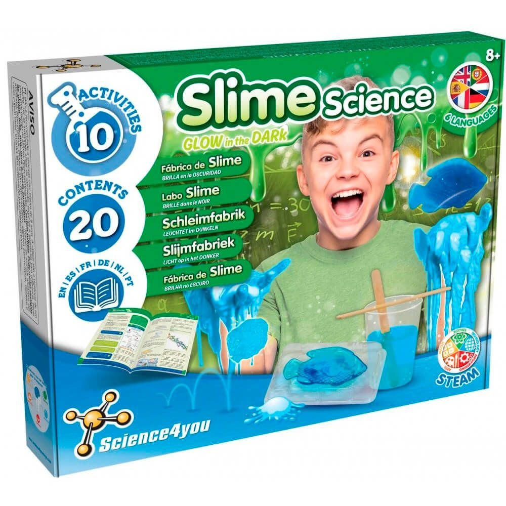 Science4You Fabrica Slime Gid M2 Pt
