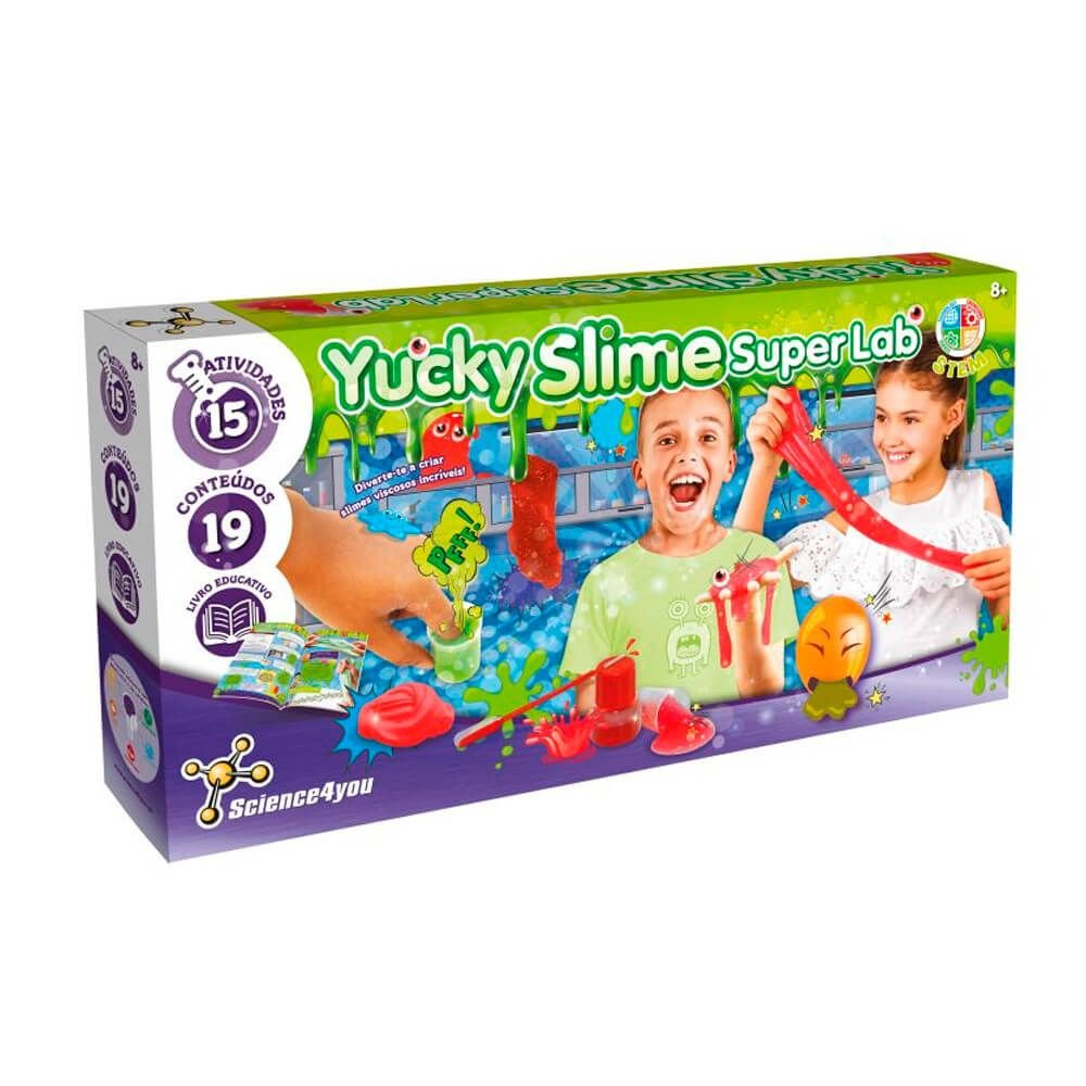 Science4You Yucky Slime Super Lab