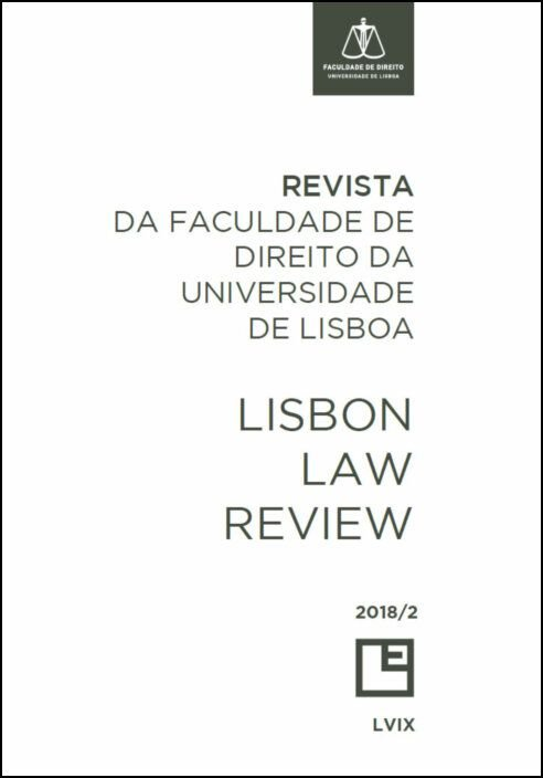 Revista da Faculdade de Direito da Universidade de Lisboa - Lisbon Law Review An