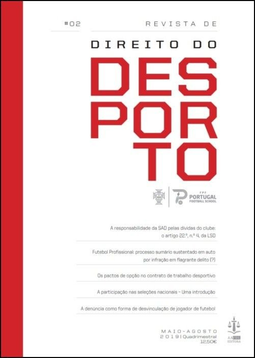 Revista de Direito do Desporto N.º 2