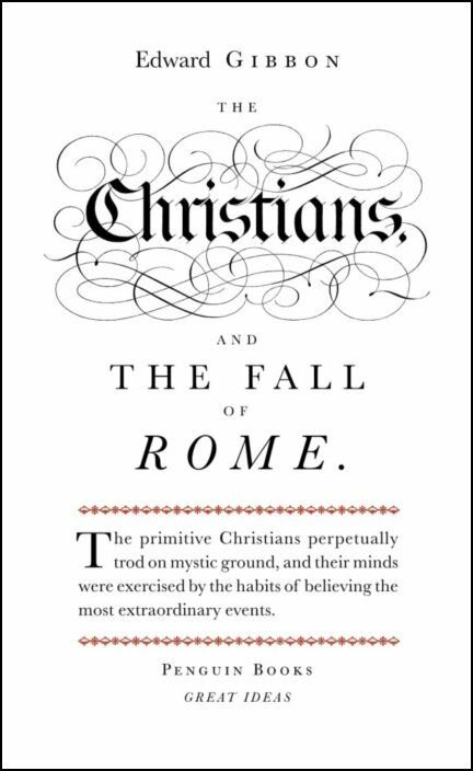 Great Ideas Christians and the Fall of Rome