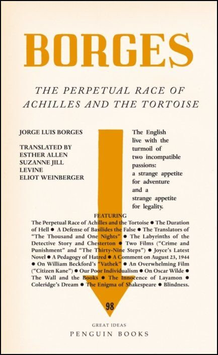 The Perpetual Race Of Achilles And The Tortoise