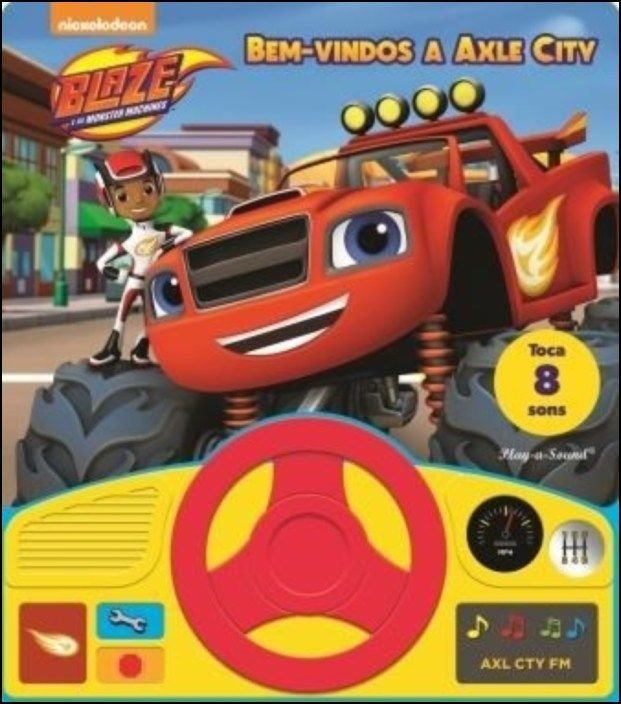 Blaze e as Monster Machines - Bem-Vindos a Axle City