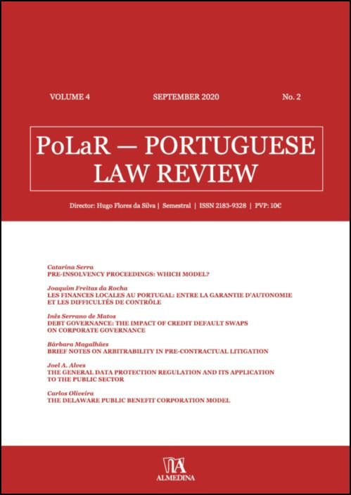 PoLaR Portuguese Law Review - vol. 4 - n.º 2
