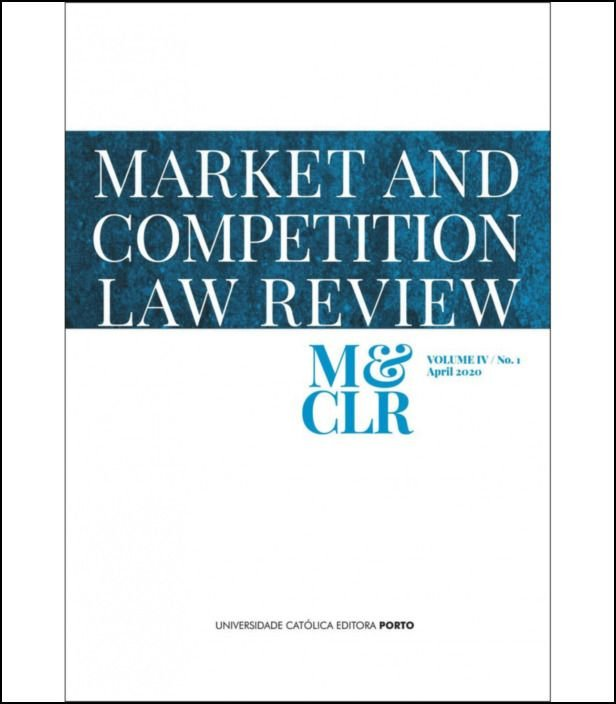 Market and Competition Law Review, Vol. 4, Nº  1, 2020