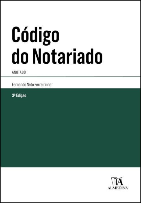 Código do Notariado - Anotado