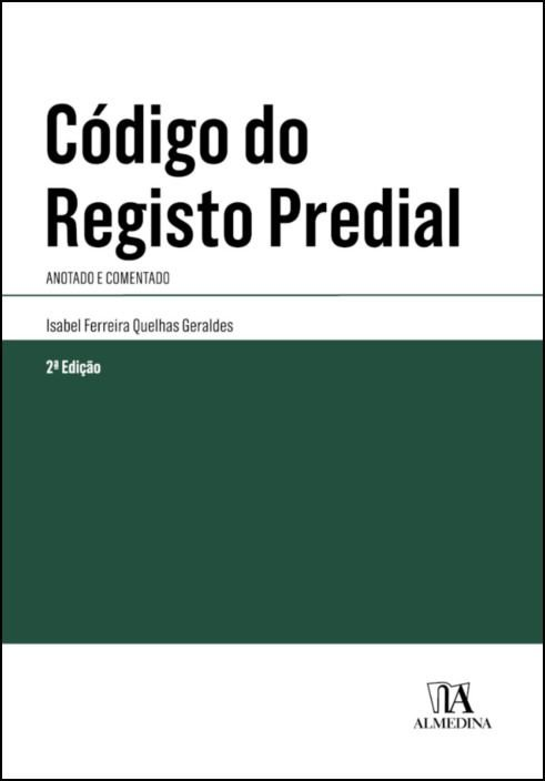 Código do Registo Predial- Anotado e Comentado