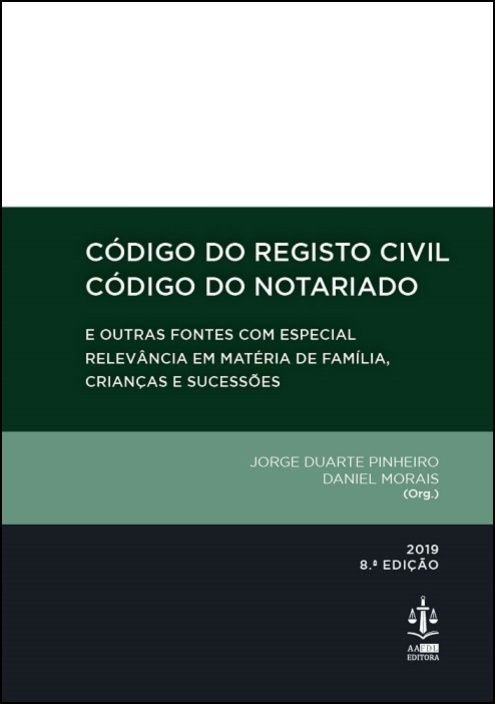 Código do Registo Civil / Código do Notariado