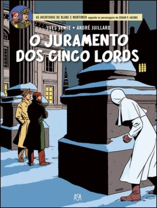 Blake & Mortimer 21 - O Juramento dos Cinco Lords