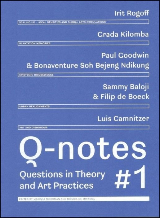 Q-notes - Questions in Theory and Art Practices #1