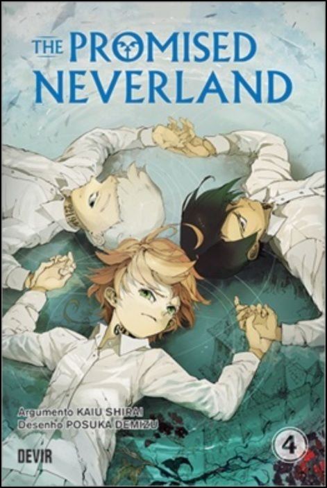 The Promised Neverland 04 - Quero Viver