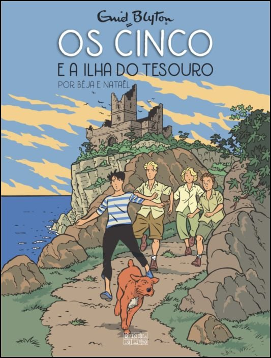Os Cinco e a Ilha do Tesouro - Nº 1 (BD)